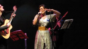 Floriana Cangiano (vocals on tracks 1, 3, 7, 10, 14, 15)