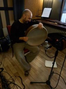 Francesco Manna, (percussions)