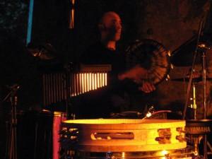 Franco Paolo Manna - Daf, riq, italian tamburin, sea drum, zarb, sheker, caxixi, bells, cajon, frame drum on all tracks, except Barrio Gotico